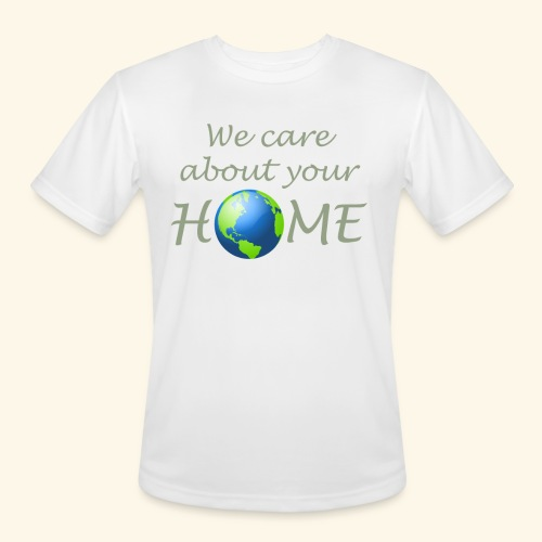 Happy Earth day - Men's Moisture Wicking Performance T-Shirt