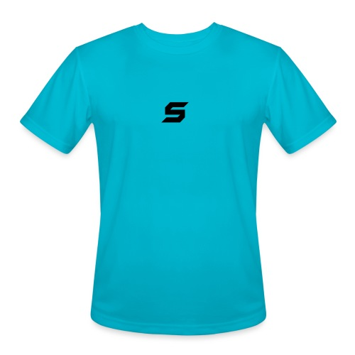A s to rep my logo - Men's Moisture Wicking Performance T-Shirt