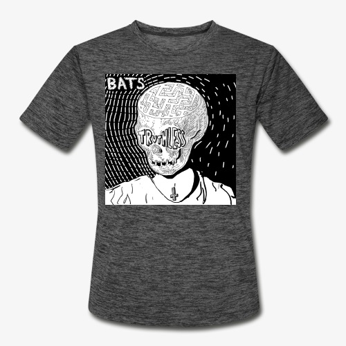 BATS TRUTHLESS DESIGN BY HAMZART - Men's Moisture Wicking Performance T-Shirt