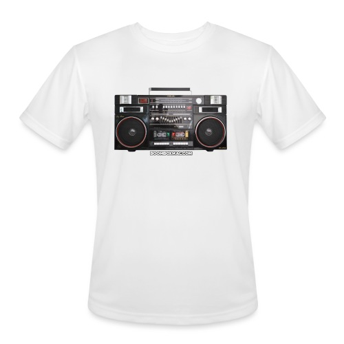 Helix HX 4700 Boombox Magazine T-Shirt - Men's Moisture Wicking Performance T-Shirt