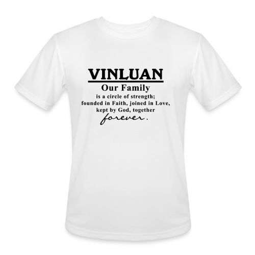 Vinluan Family 01 - Men's Moisture Wicking Performance T-Shirt