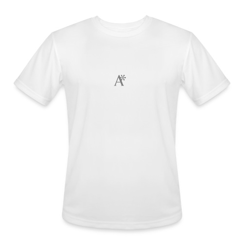 A* logo - Men's Moisture Wicking Performance T-Shirt