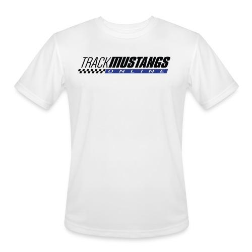 TMO Logo Dark Text - Men's Moisture Wicking Performance T-Shirt