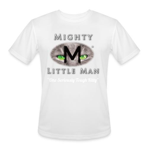 MIGHTY LITTLE MAN Logo - Men's Moisture Wicking Performance T-Shirt
