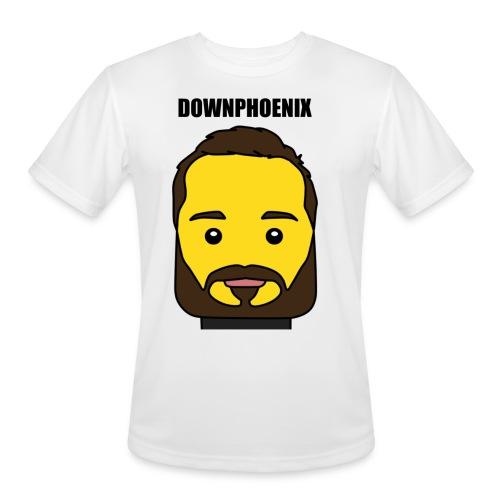 Downphoenix Face Mode - Men's Moisture Wicking Performance T-Shirt