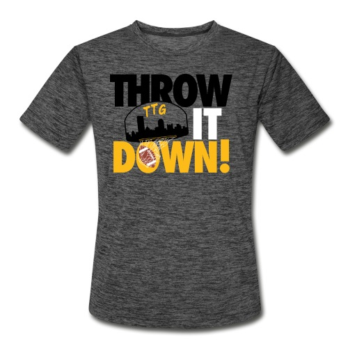 Throw it Down! (Turnover Dunk) - Men's Moisture Wicking Performance T-Shirt