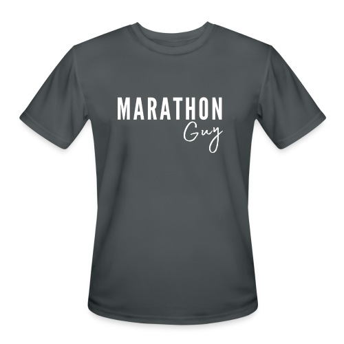 Marathon Guy - Men's Moisture Wicking Performance T-Shirt