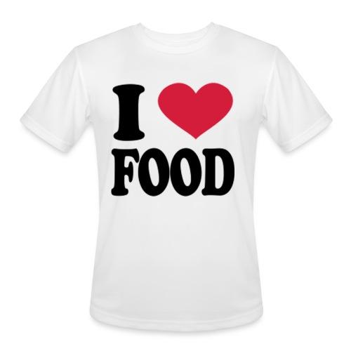 i love food - Men's Moisture Wicking Performance T-Shirt