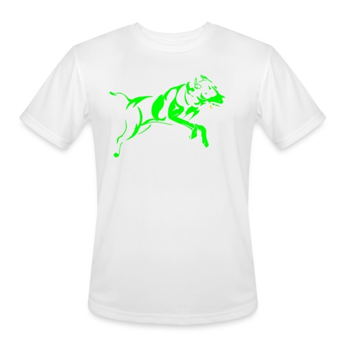 Daisy 2 green - Men's Moisture Wicking Performance T-Shirt