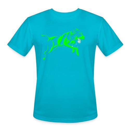 Daisy 2 green - Men's Moisture Wicking Performance T-Shirt