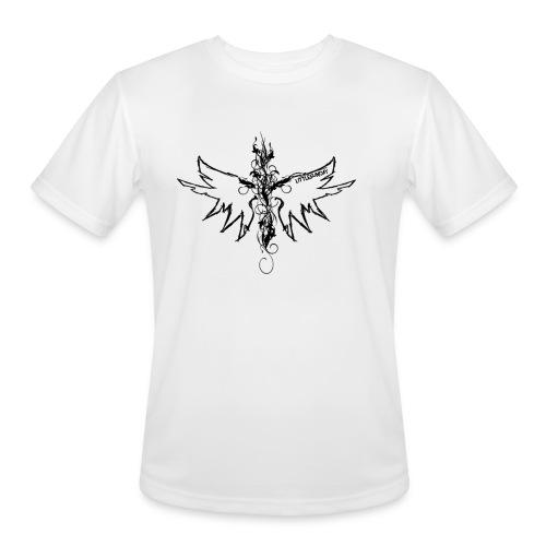 peace.love.good karma - Men's Moisture Wicking Performance T-Shirt