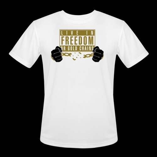 Live Free - Men's Moisture Wicking Performance T-Shirt