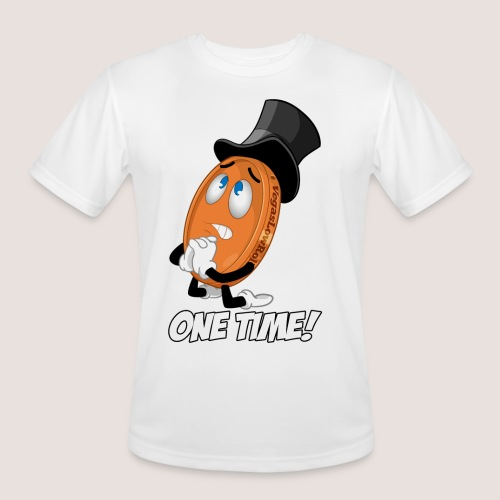 THE ONE TIME PENNY - Men's Moisture Wicking Performance T-Shirt