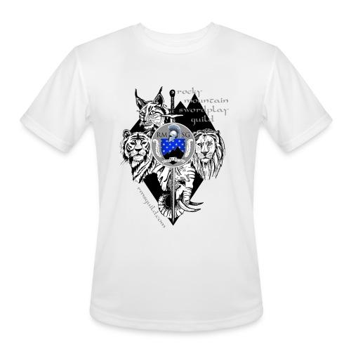 RMSG Fiore's Animals - Men's Moisture Wicking Performance T-Shirt