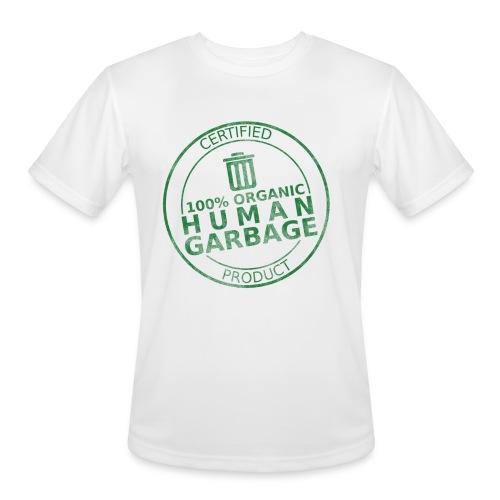 100% Human Garbage - Men's Moisture Wicking Performance T-Shirt