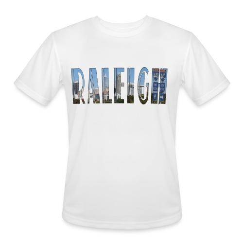 Raleigh Skyline Fall - Men's Moisture Wicking Performance T-Shirt