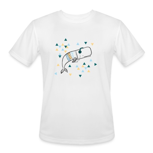 Music Whale - Men's Moisture Wicking Performance T-Shirt