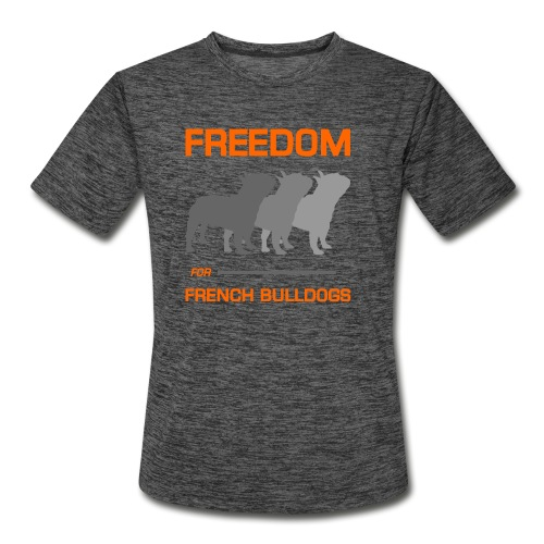 French Bulldogs - Men's Moisture Wicking Performance T-Shirt