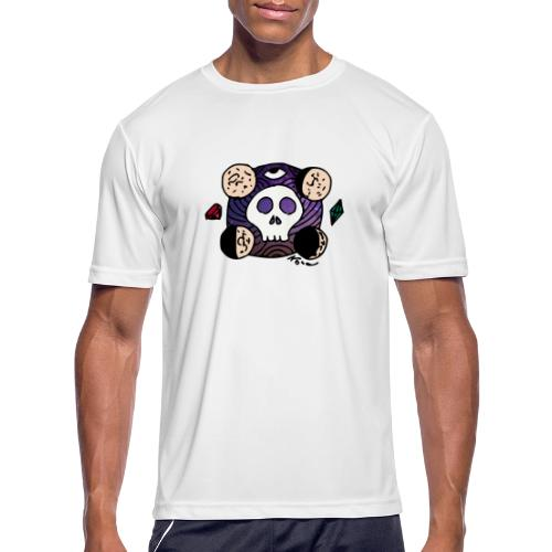 Moon Skull from Outer Space - Men's Moisture Wicking Performance T-Shirt