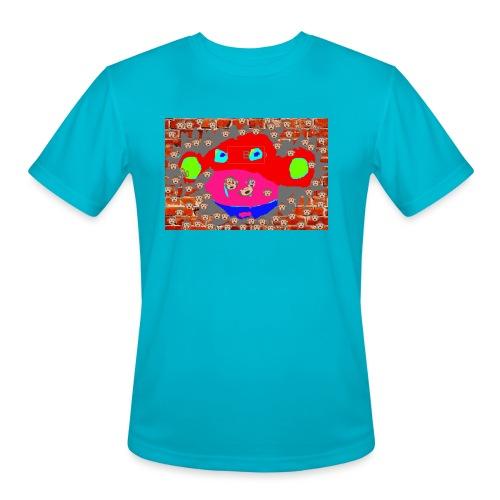 monkey by brax - Men's Moisture Wicking Performance T-Shirt