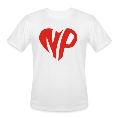 np heart - Men's Moisture Wicking Performance T-Shirt