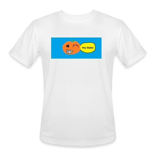 peachy smile - Men's Moisture Wicking Performance T-Shirt