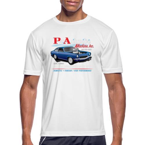 ProAutoTeeDesign062317fin - Men's Moisture Wicking Performance T-Shirt