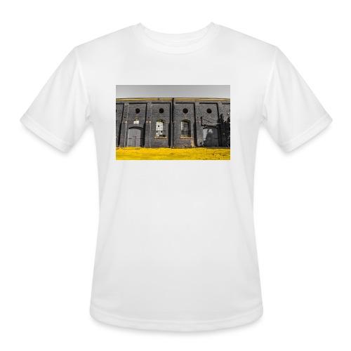Bricks: who worked here - Men's Moisture Wicking Performance T-Shirt