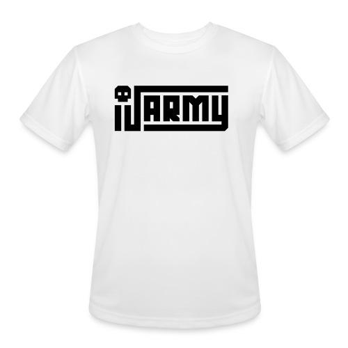 iJustine - iJ Army Logo - Men's Moisture Wicking Performance T-Shirt