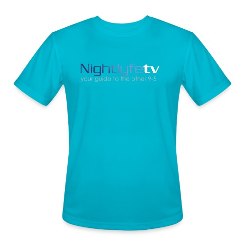 NTV Logo Full - Men's Moisture Wicking Performance T-Shirt