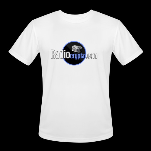 RadioCrypto Logo 1 - Men's Moisture Wicking Performance T-Shirt