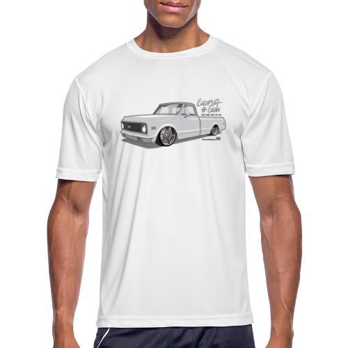 Long & Low C10 - Men's Moisture Wicking Performance T-Shirt