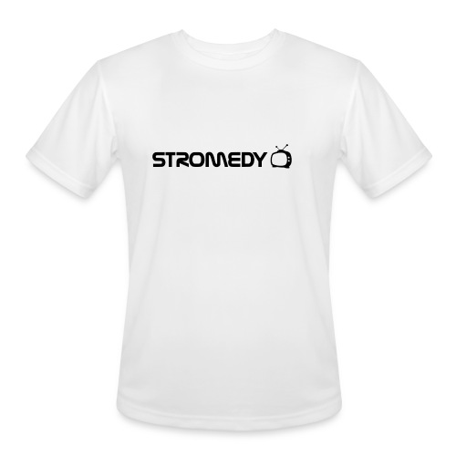 White Stromedy T-Shirt - Men's Moisture Wicking Performance T-Shirt