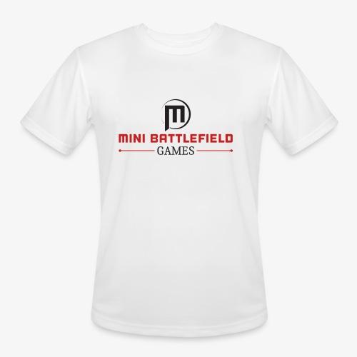 Mini Battlefield Games Logo - Men's Moisture Wicking Performance T-Shirt