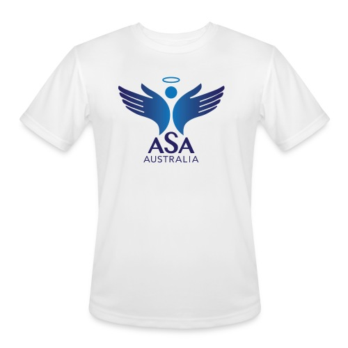 3459 Angelman Logo AUSTRALIA FA CMYK - Men's Moisture Wicking Performance T-Shirt