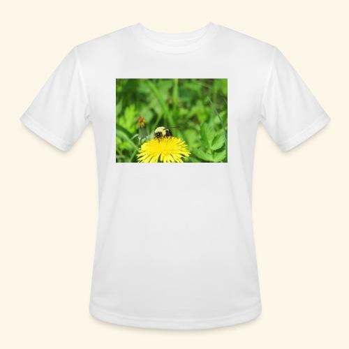 Dandelion Bee - Men's Moisture Wicking Performance T-Shirt