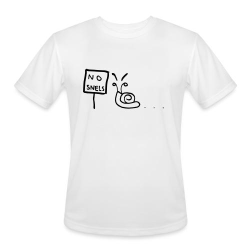 No Snels Original - Men's Moisture Wicking Performance T-Shirt