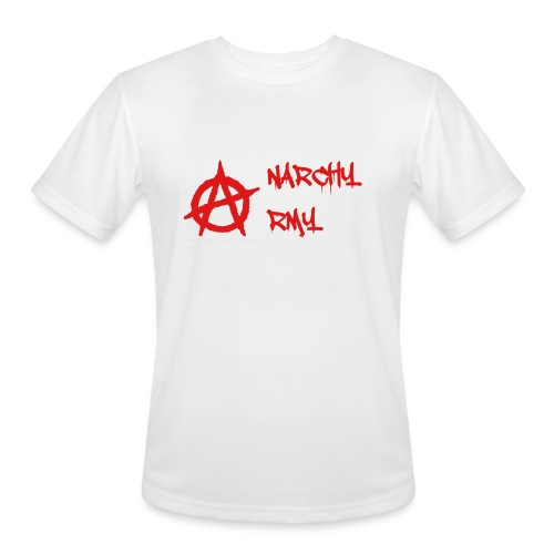 Anarchy Army LOGO - Men's Moisture Wicking Performance T-Shirt