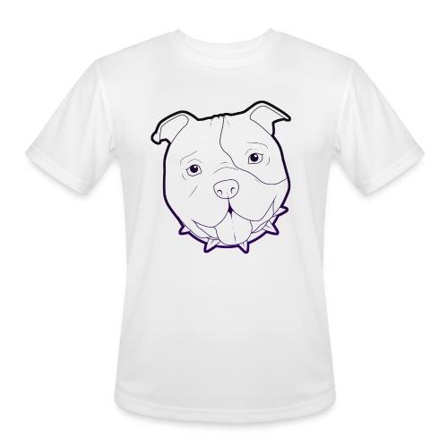 Pit Tee Outline alt. - Men's Moisture Wicking Performance T-Shirt