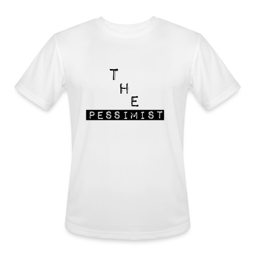 The Pessimist Abstract Design - Men's Moisture Wicking Performance T-Shirt
