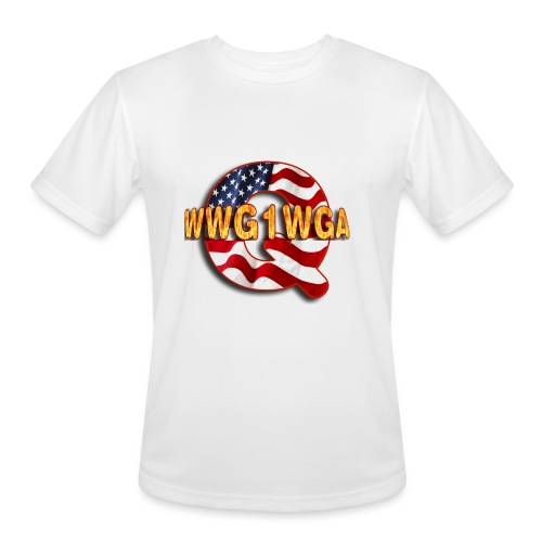 Q WWG1WGA - Men's Moisture Wicking Performance T-Shirt