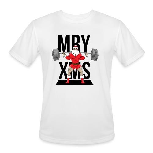 Santa lifts - Men's Moisture Wicking Performance T-Shirt