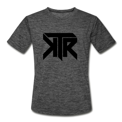 KTR Logo Black - Men's Moisture Wicking Performance T-Shirt