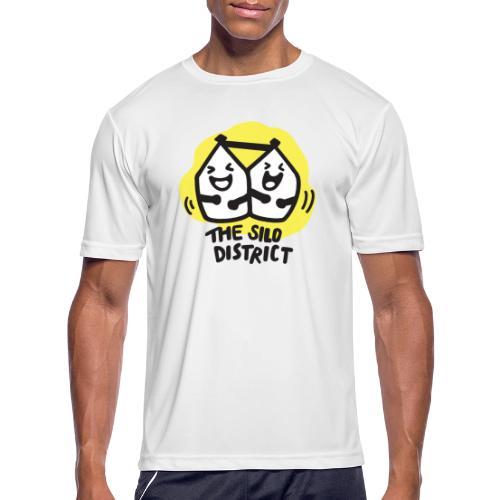 The Silo District Comedy Club Logo - Men's Moisture Wicking Performance T-Shirt