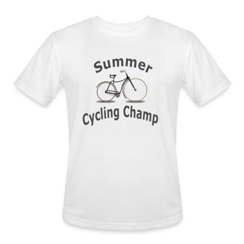Summer Cycling Champ - Men's Moisture Wicking Performance T-Shirt