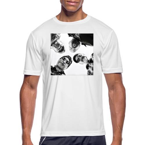 Crawdad Joe Circle shot - Men's Moisture Wicking Performance T-Shirt