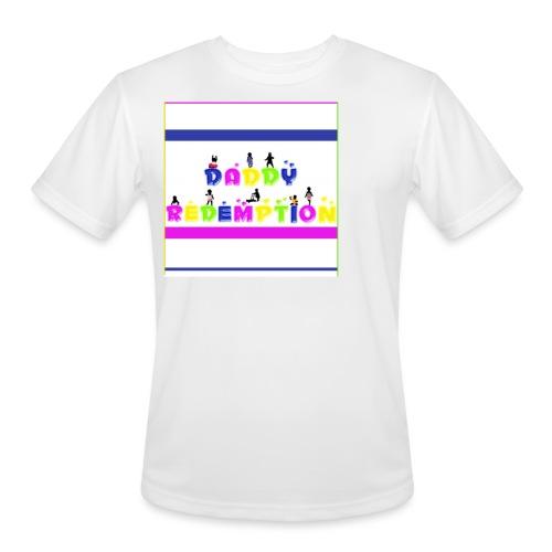 DADDY REDEMPTION T SHIRT TEMPLATE - Men's Moisture Wicking Performance T-Shirt