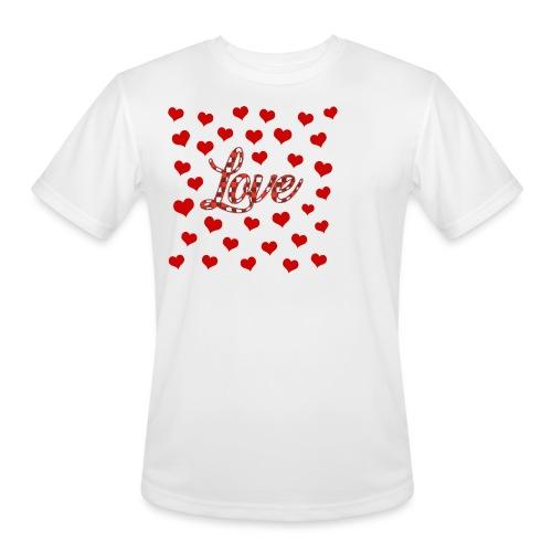 VALENTINES DAY GRAPHIC 3 - Men's Moisture Wicking Performance T-Shirt