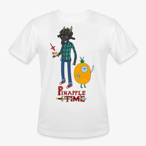 Pinapple Time Inside Joke T-Shirt - Men's Moisture Wicking Performance T-Shirt