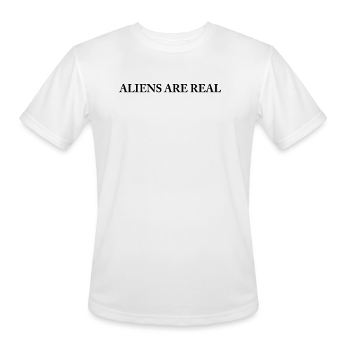 Aliens are Real - Men's Moisture Wicking Performance T-Shirt